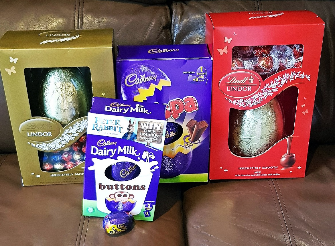 Lots of Easter eggs - April 2018 Monthly Recap by BeckyBecky Blogs