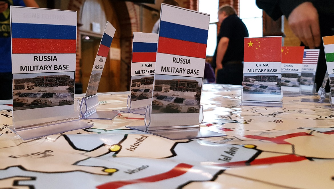 Army bases in Russia - Arrival Megagame After Action Report by BeckyBecky Blogs