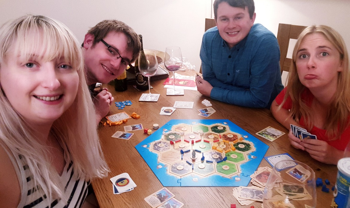 Settlers of Catan - July and August 2018 Monthly Recap by BeckyBecky Blogs