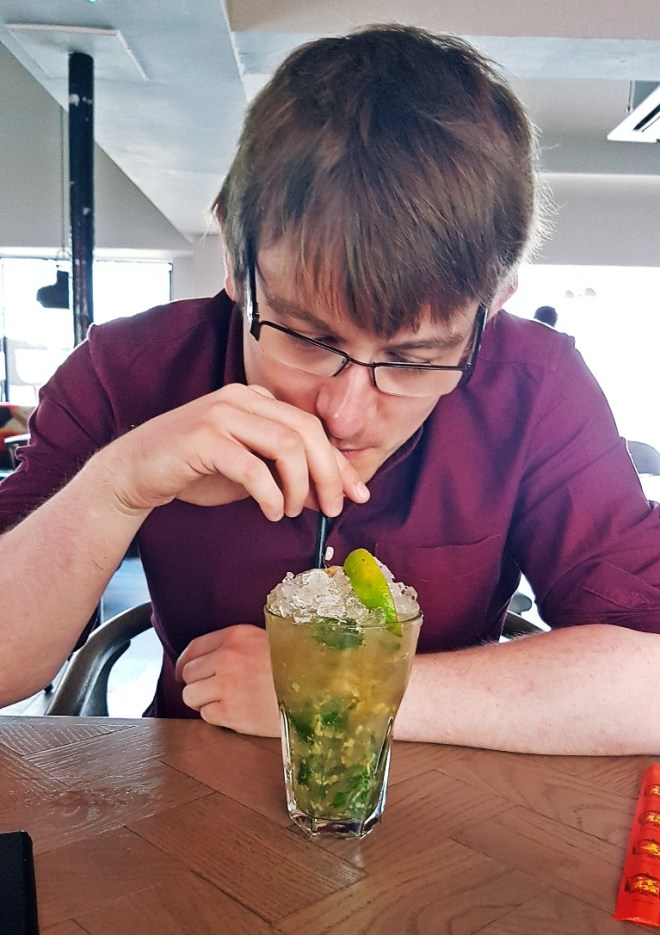 Bottomless Apple and Ginger Mojitos at Bar Soba in Leeds - Bottomless Lunch Review by BeckyBecky BlogsThe street view of Bar Soba in Leeds - Bottomless Lunch Review by BeckyBecky Blogs