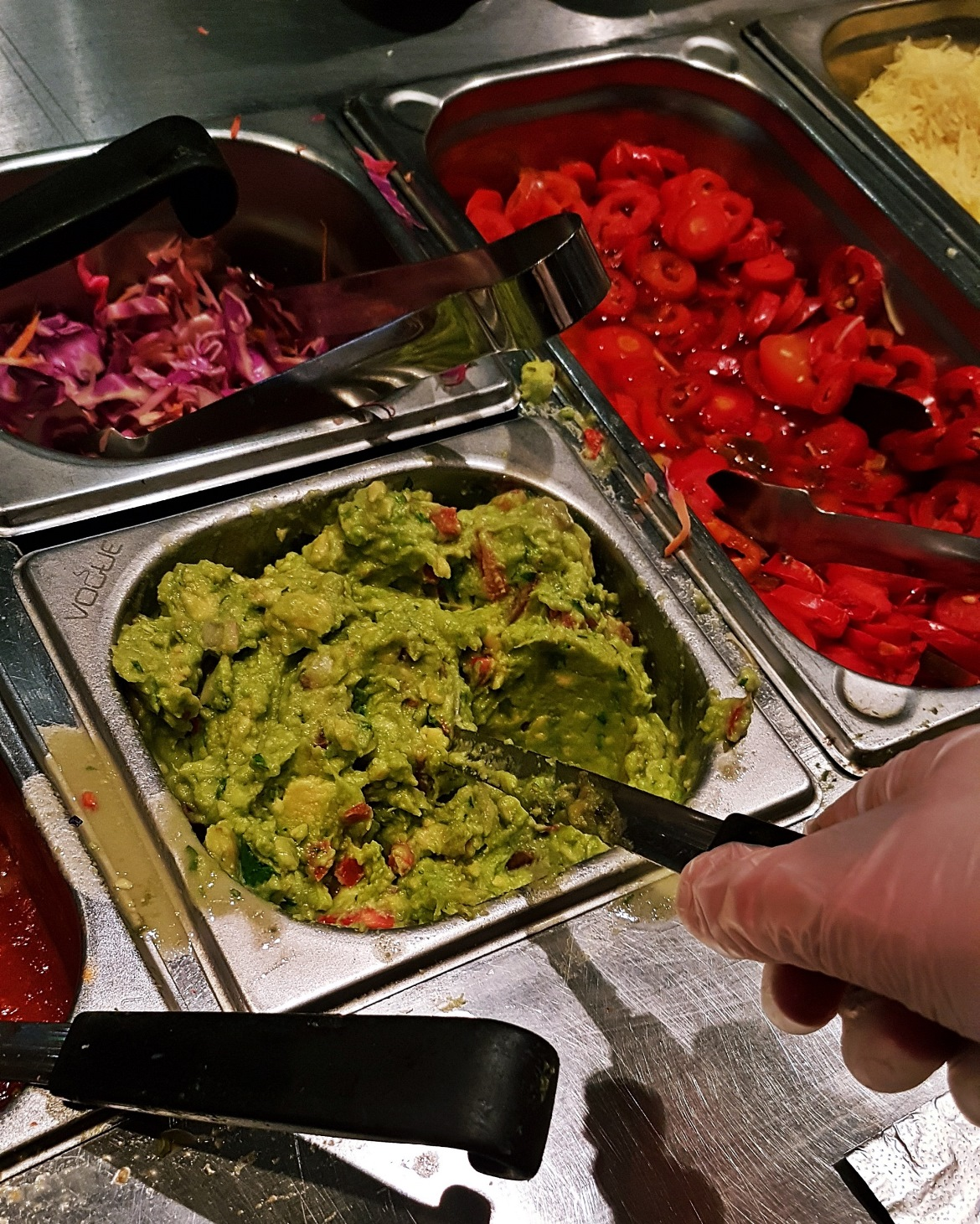Ladle full of guacamole - Burrito Masterclass with Barburrito, review by BeckyBecky Blogs