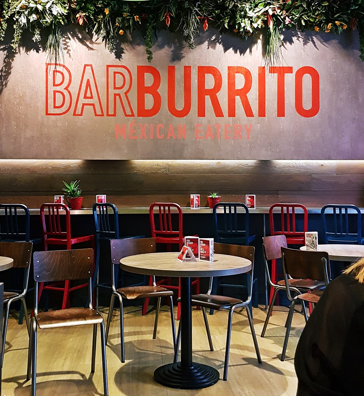 Interior of Barburrito - Burrito Masterclass with Barburrito, review by BeckyBecky Blogs