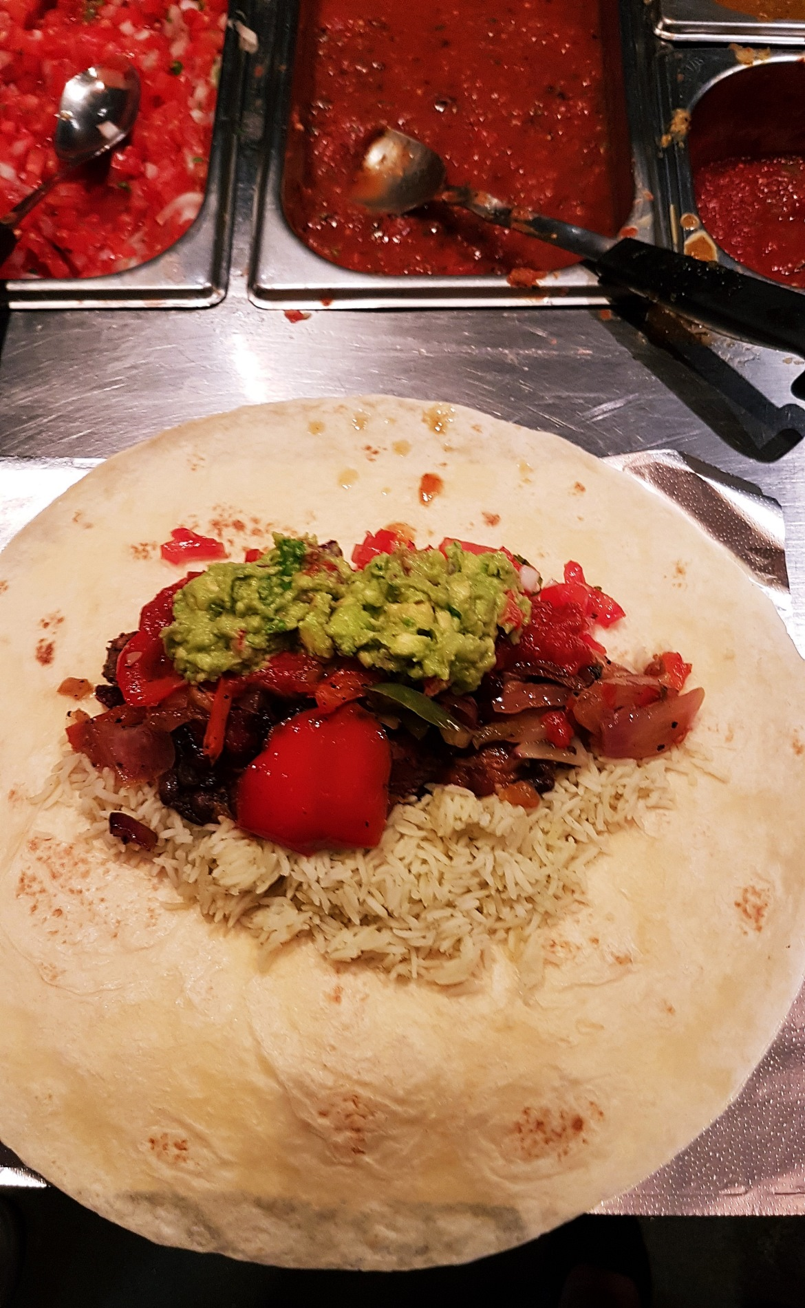A fully loaded burrito - Burrito Masterclass with Barburrito, review by BeckyBecky Blogs