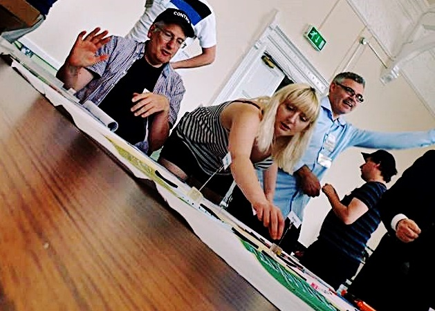 Barricades and Borders megagame - Fifty Megagames by BeckyBecky Blogs