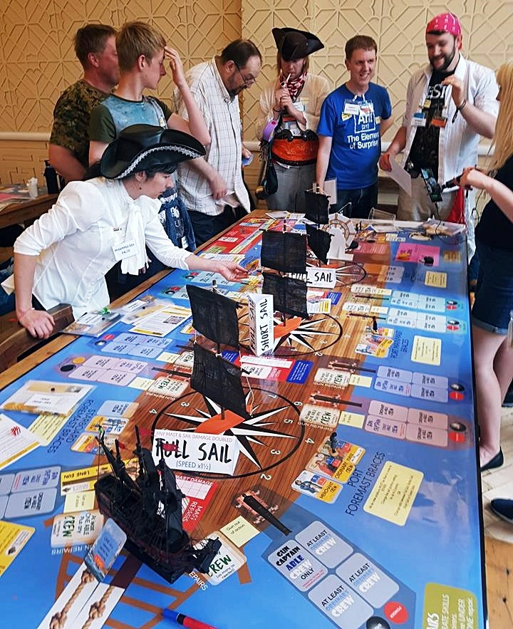 Life on Rackham's Ghost - Blood and Thunder Megagame After Action Report by BeckyBecky Blogs