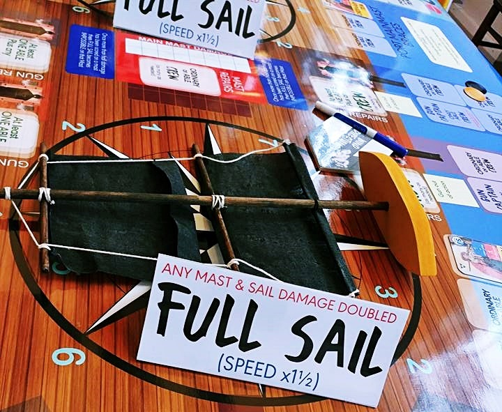 A broken sail - Blood and Thunder Megagame After Action Report by BeckyBecky Blogs
