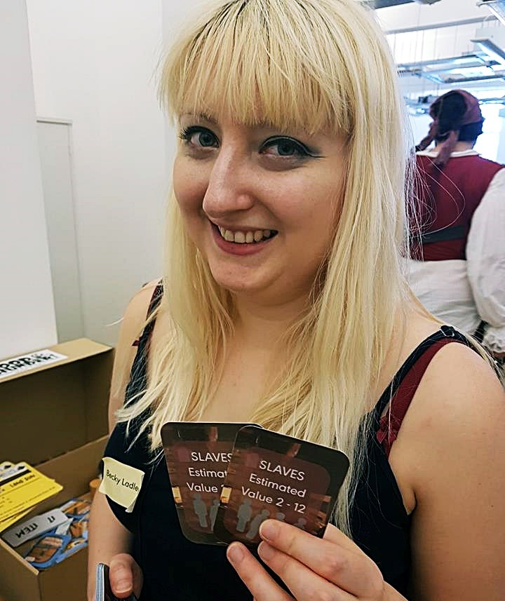 Selling slaves - Blood and Thunder Megagame After Action Report by BeckyBecky Blogs