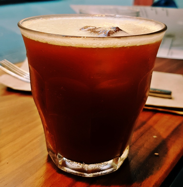 Cold Brew Old Fashioned - Breakfast For Dinner at Laynes Espresso, LIF review by BeckyBecky Blogs