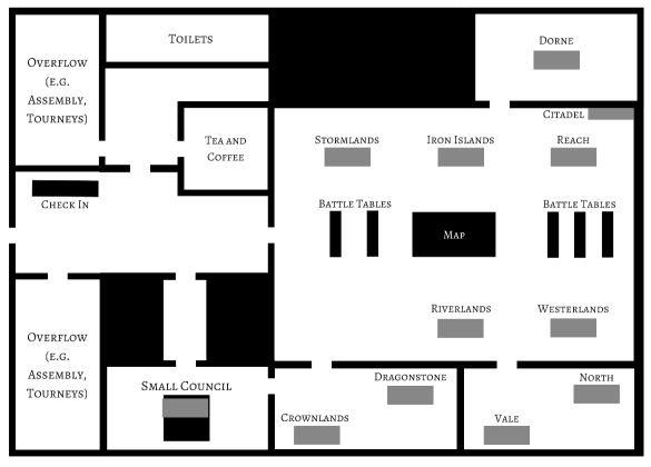 Megagame venue floorplan - Using Canva to create graphics for your megagame