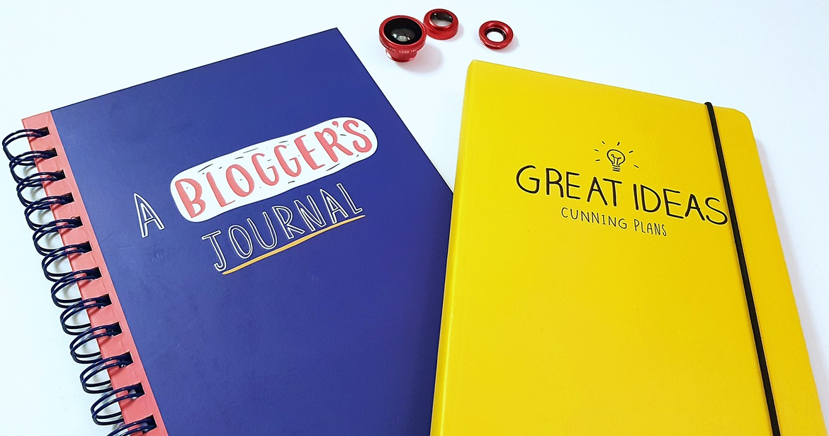 Blogger Journal, Great Ideas Notebook, Smartphone lenses - Christmas Presents Round Up by BeckyBecky Blogs