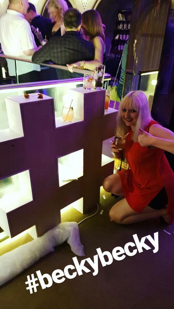 Hashtag BeckyBecky at the Cocktail Experience Leeds - Review by BeckyBecky Blogs