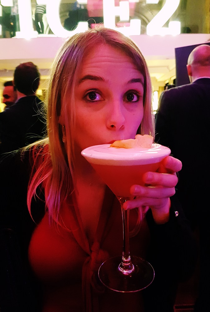 Pink Lady by Sky Lounge at the Cocktail Experience Leeds - Review by BeckyBecky Blogs