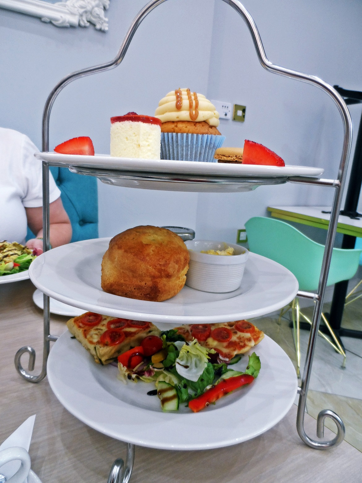 Italian Afternoon Tea - Creams British Luxury Leeds Restaurant Review by BeckyBecky Blogs