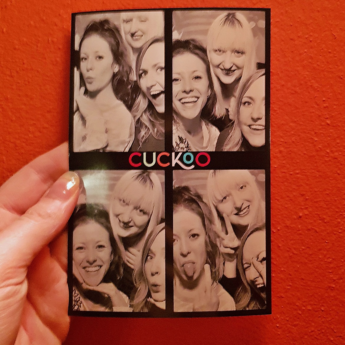 Photo booth - Cuckoo, the newest cocktail and pizza bar on Call Lane in Leeds - Bar Review by BeckyBecky Blogs
