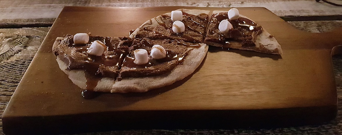 Wonka Dessert Pizza - Cuckoo, the newest cocktail and pizza bar on Call Lane in Leeds - Bar Review by BeckyBecky Blogs