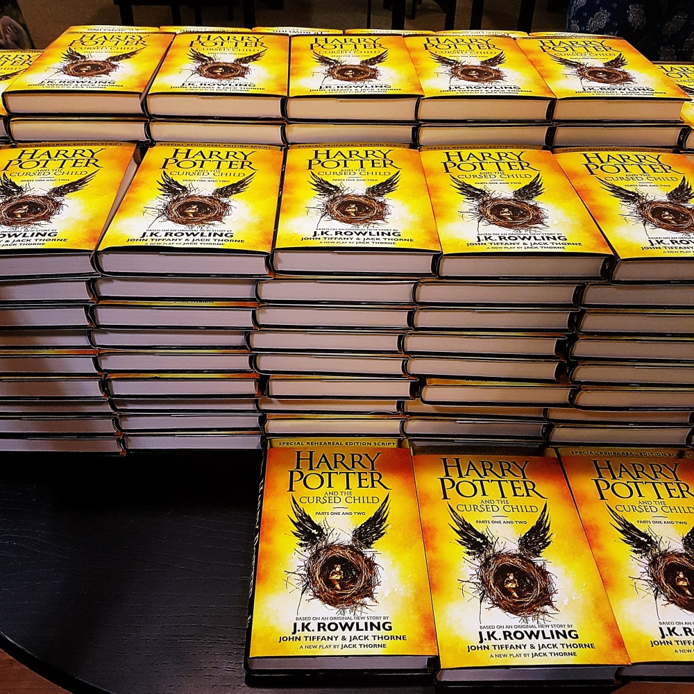 New Harry Potter book revealed at Cursed Child Book Launch at Waterstones Leeds