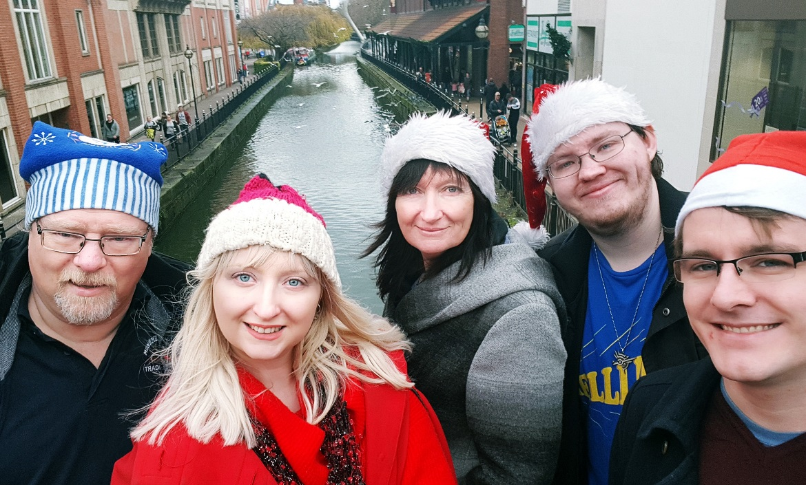Family shopping day in Lincoln - December Monthly Recap by BeckyBecky Blogs