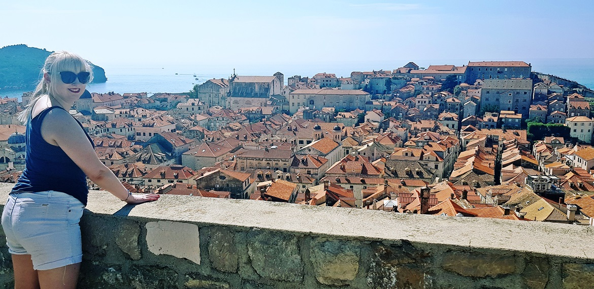 City Walls view - Sightseeing in Dubrovnik, Croatia - Top Travel Tips by BeckyBecky Blogs