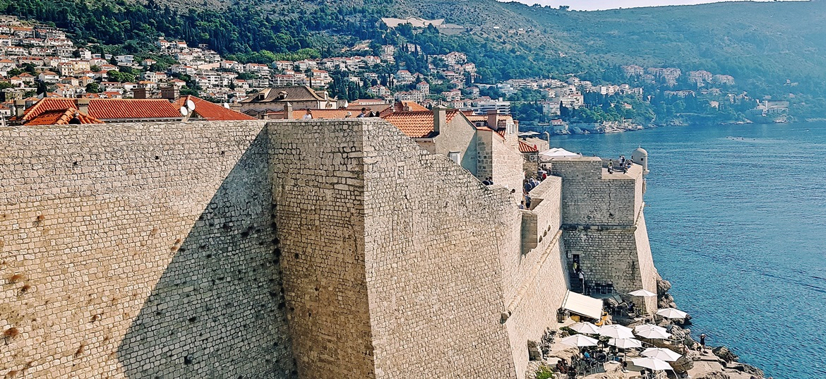 Exploring the City Walls - Sightseeing in Dubrovnik, Croatia - Top Travel Tips by BeckyBecky Blogs