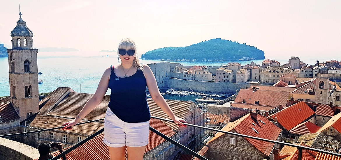 View of Dubrovnik from the City Walls - Croatia in Photographs by BeckyBecky Blogs