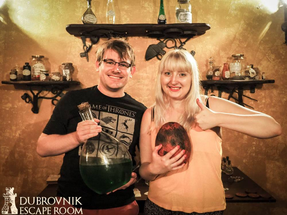 Save King's Landing escape room by Puzzle Punks Dubrovnik Escape Room in Croatia, review by BeckyBecky Blogs