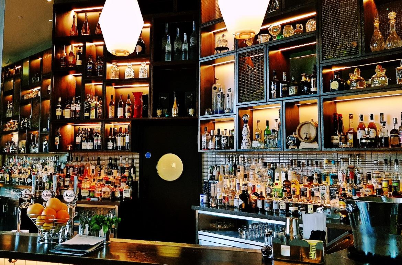 The bar - Bottomless Brunch at East 59th, Leeds Restaurant Review by BeckyBecky Blogs