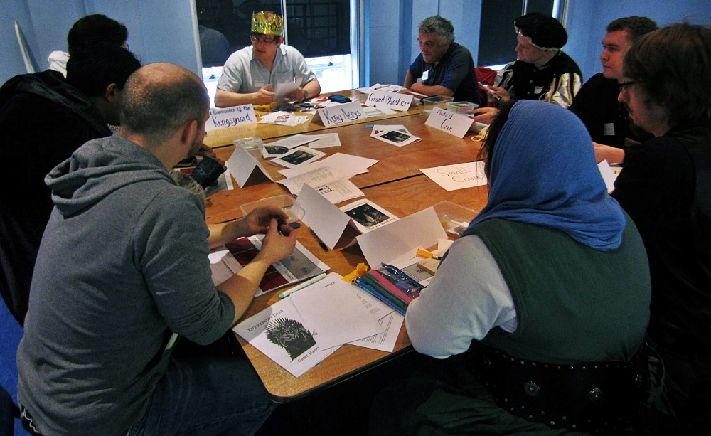 Small Council at the Everybody Dies Megagame by BeckyBecky Blogs