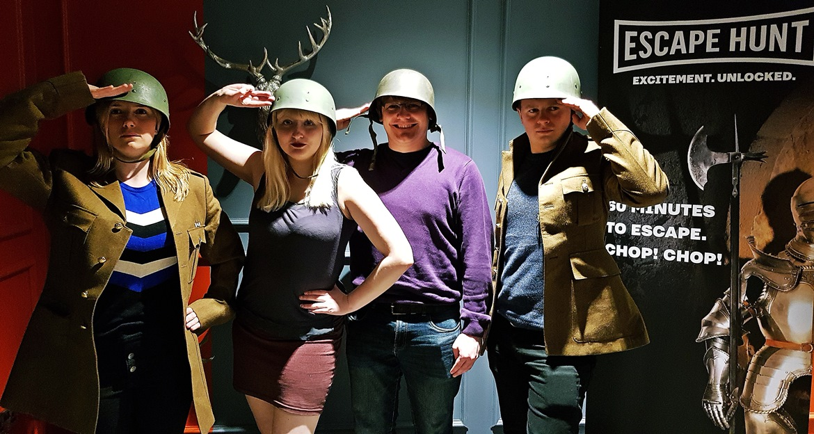 Victory photos - Our Finest Hour, escape room by Escape Hunt Leeds, review by BeckyBecky Blogs