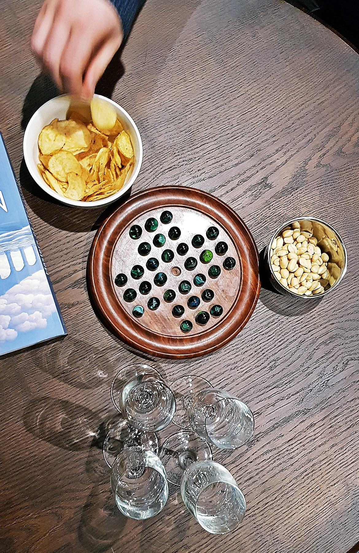 Snacks before playing the game - Our Finest Hour, escape room by Escape Hunt Leeds, review by BeckyBecky Blogs