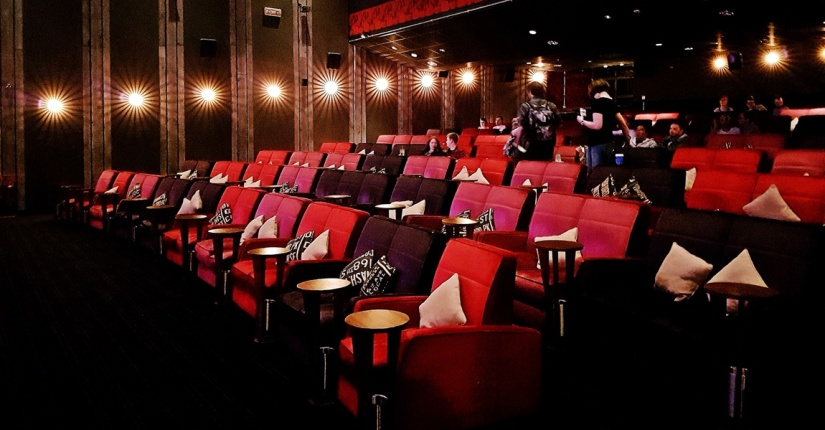 everyman cinema Leeds interior