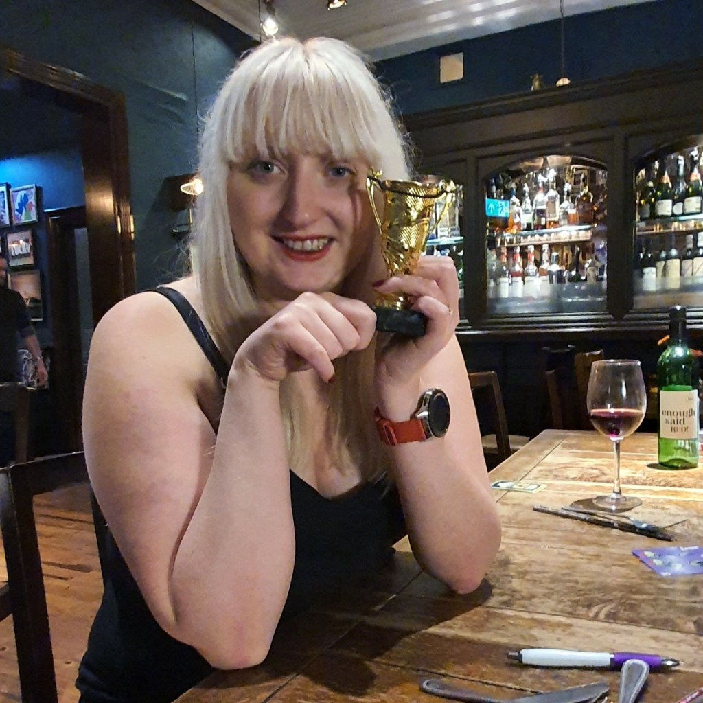 Trophy - Happy birthday feat board games and giffgaff by BeckyBecky Blogs
