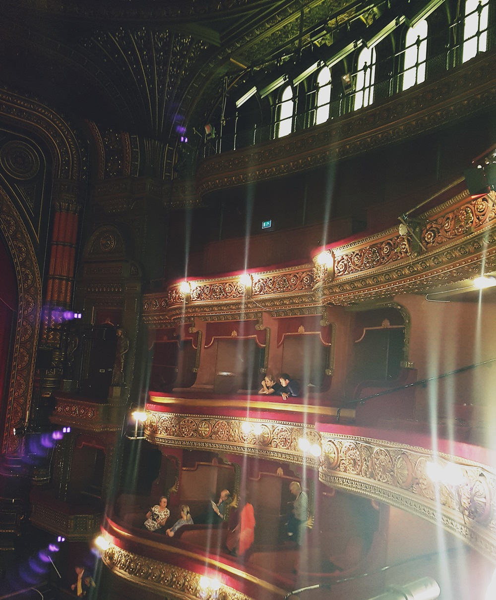Interior at The Grand Theatre Leeds