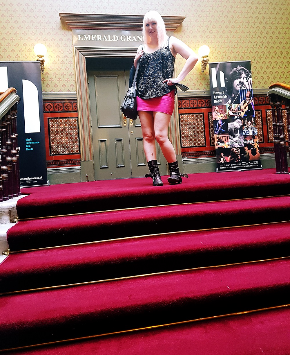 Staircase at The Grand Theatre Leeds