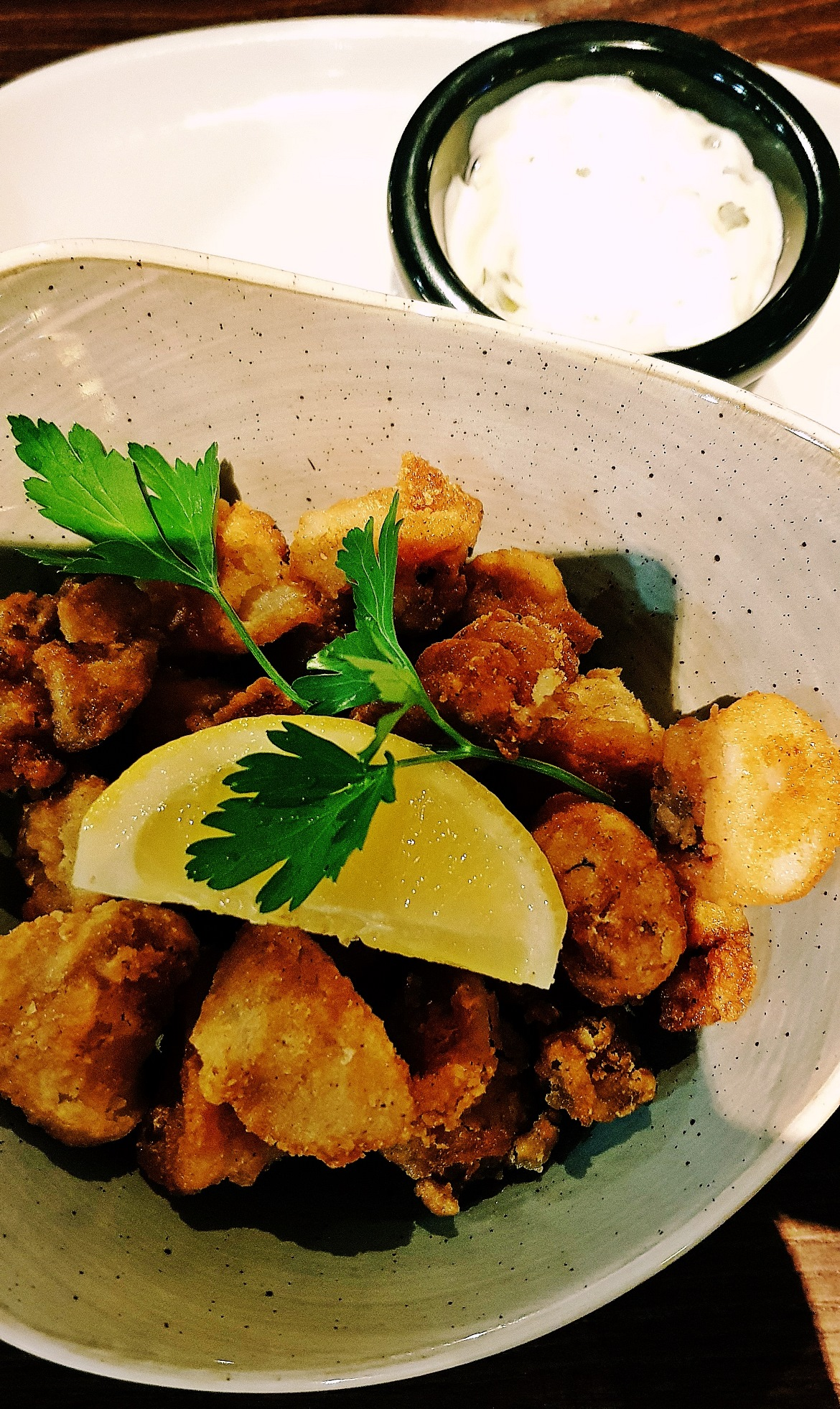 Calamari - Grosvenor Casino Leeds review by BeckyBecky Blogs