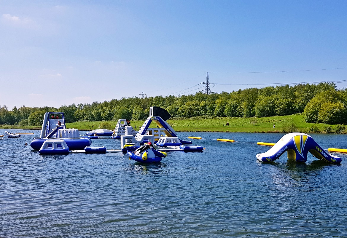 Total Wipeout at Sheffield Cable Aqua Park - How to throw a kickass hen party by BeckyBecky Blogs