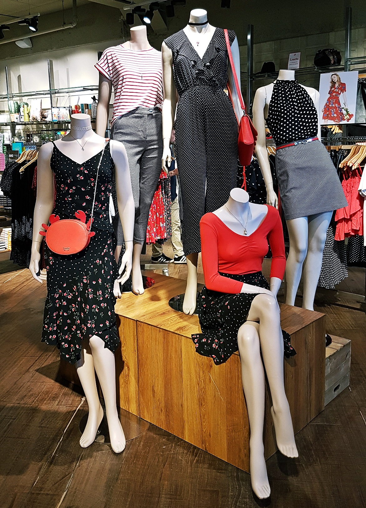 A range of clothes on mannequins - Tune in with Joy the Store, Leeds shop review by BeckyBecky Blogs