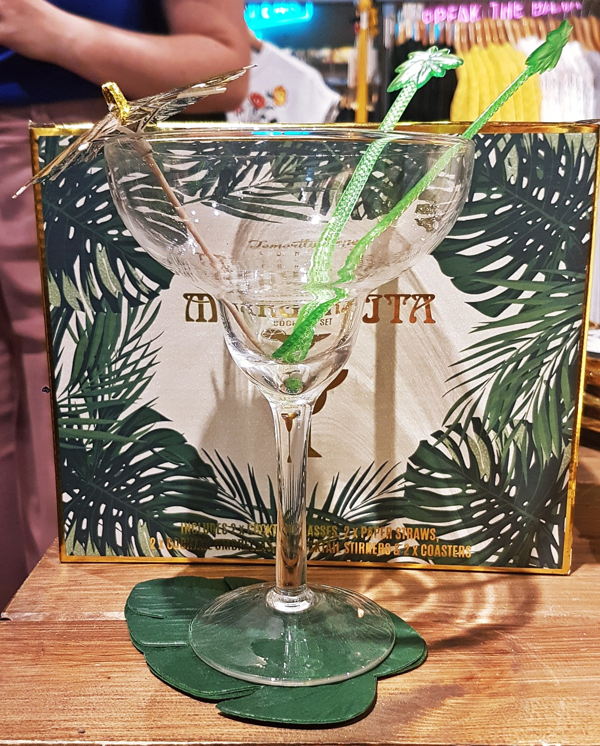 Margarita glass - Tune in with Joy the Store, Leeds shop review by BeckyBecky Blogs