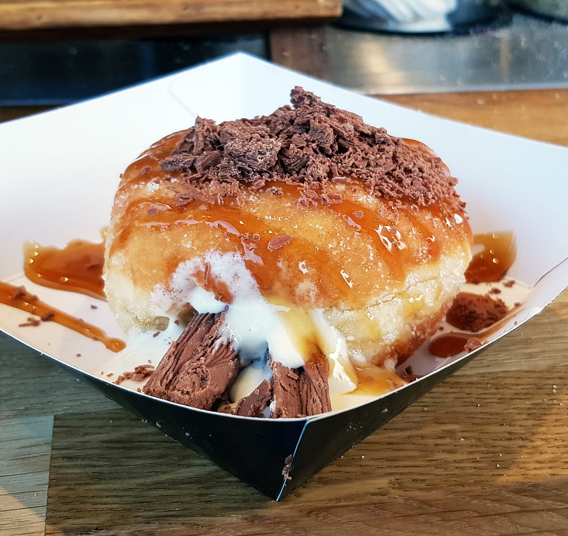 Dohhut doughnut at Leeds Food and Drink Festival - June 2018 Monthly Recap by BeckyBecky Blogs
