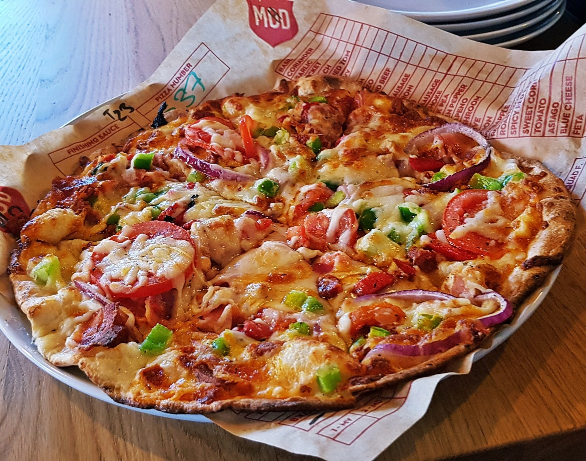 Mod Pizza - June 2018 Monthly Recap by BeckyBecky Blogs