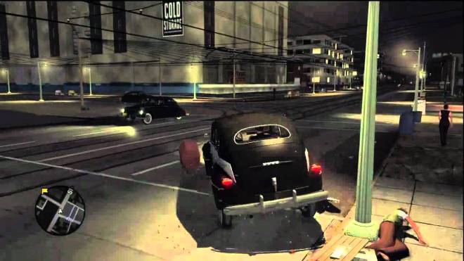 Driving in L.A. Noire