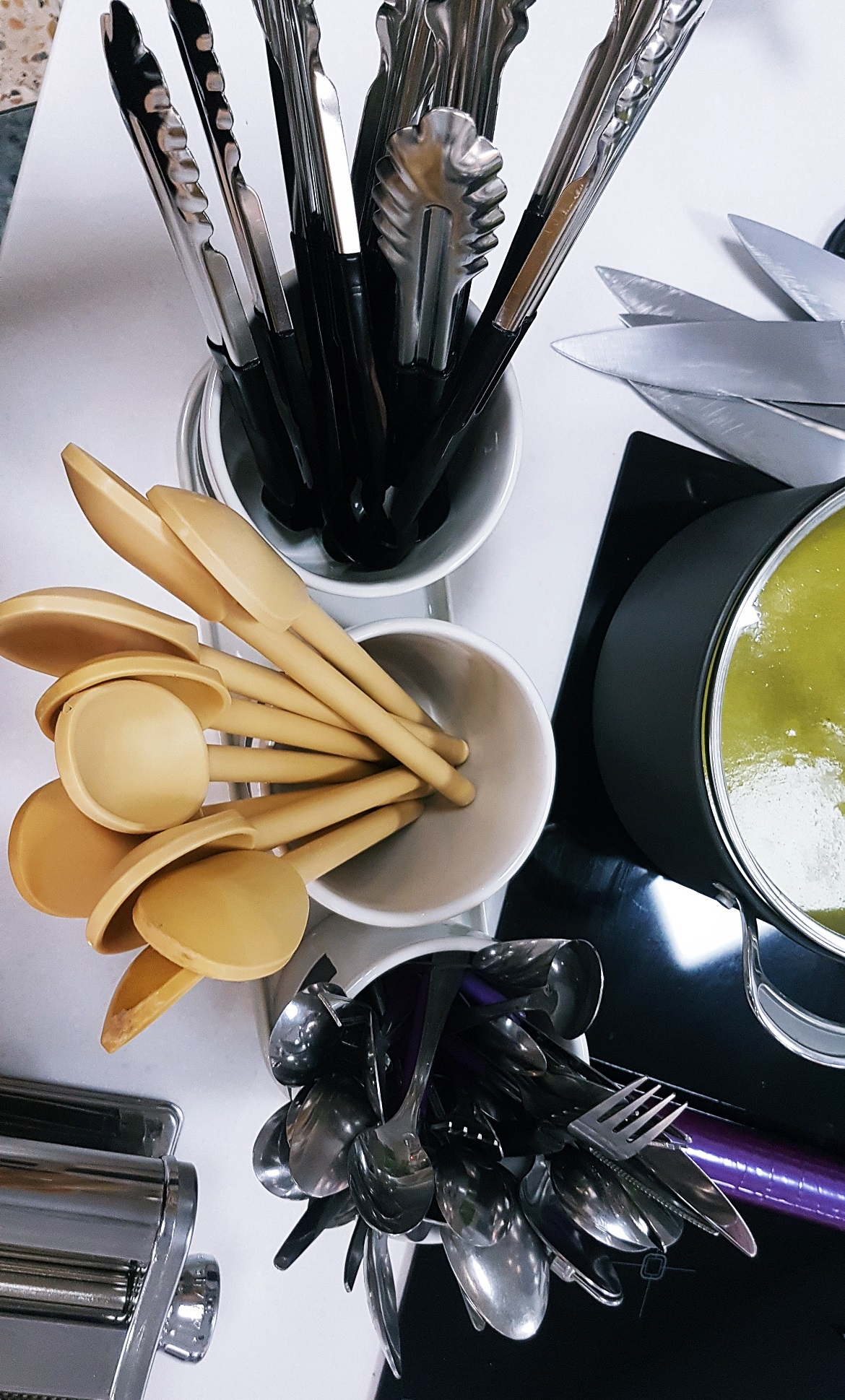 Cooking implements - Leeds Cookery School review by BeckyBecky Blogs