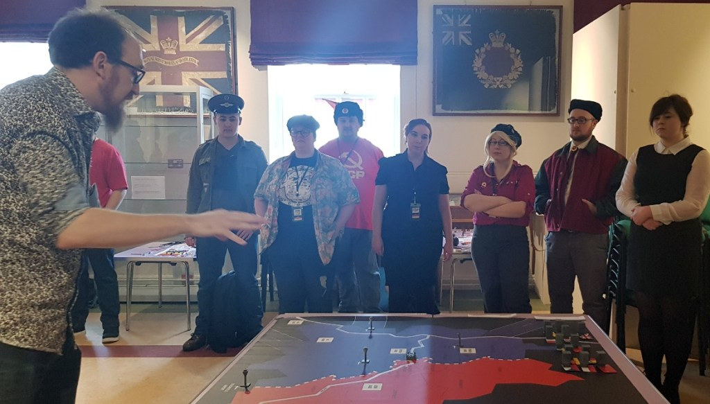 An announcement - Lights in the Sky Megagame Report by BeckyBecky Blogs
