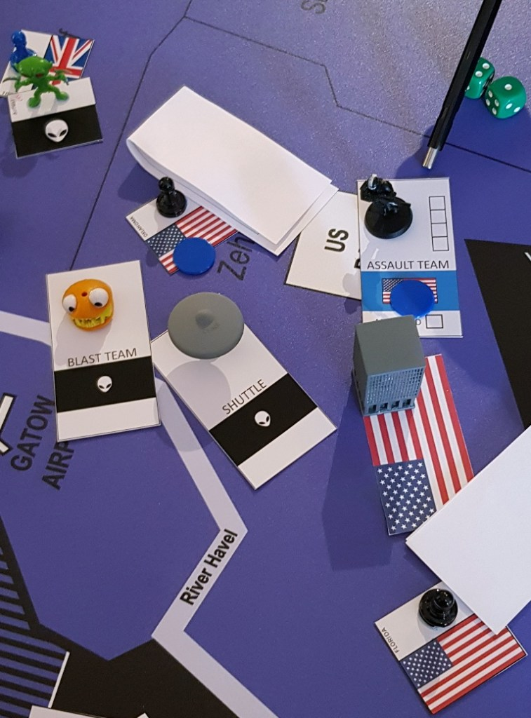 Infiltrating the America Embassy - Lights in the Sky Megagame Report by BeckyBecky Blogs
