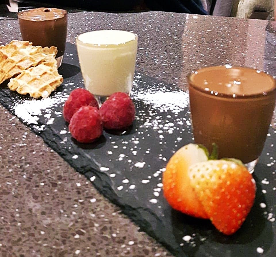Chocolate shots at Heavenly Desserts, Nottingham - May 2018 Monthly Recap by BeckyBecky Blogs