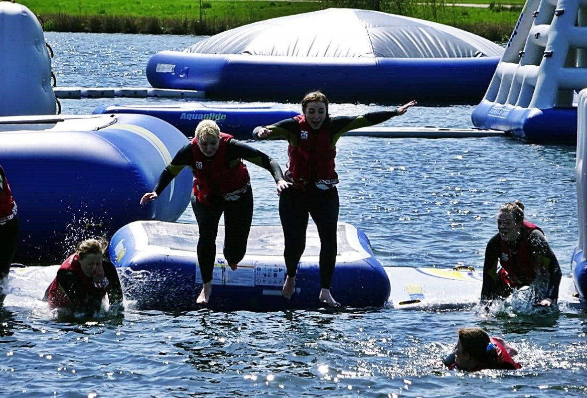 Total Wipeout at Sheffield Cable Aqua Park - May 2018 Monthly Recap by BeckyBecky Blogs