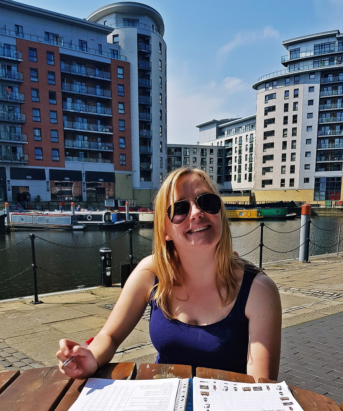 Enjoying the sun at Leeds Dock - May 2018 Monthly Recap by BeckyBecky Blogs