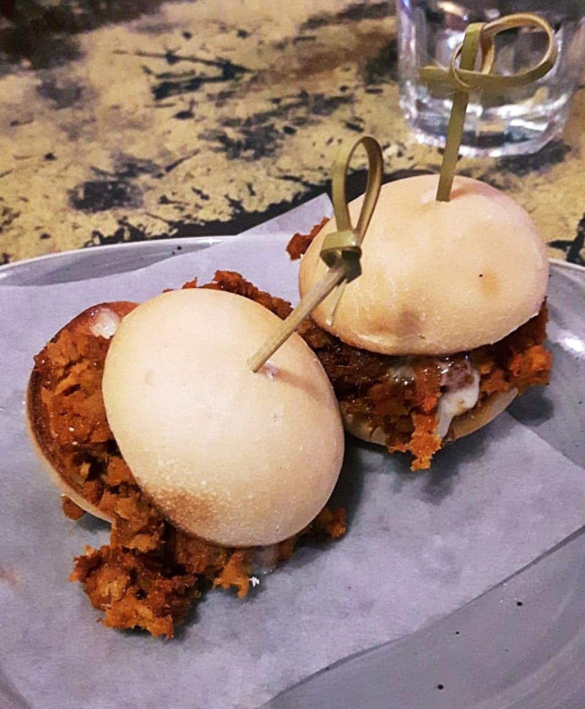 Pork sliders at Baresca, Nottingham - May 2018 Monthly Recap by BeckyBecky Blogs