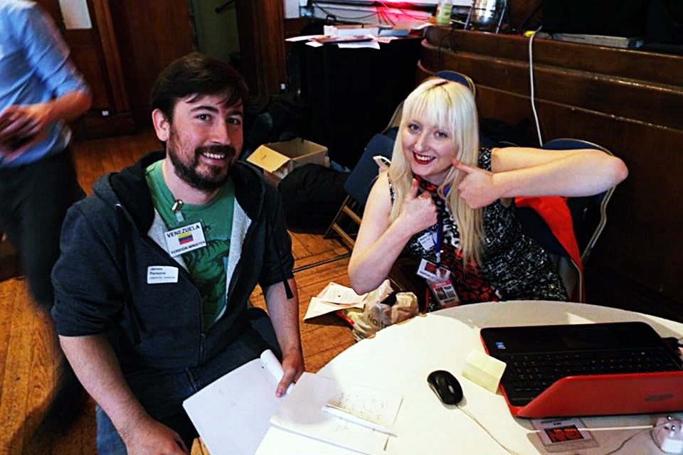 Watch The Skies 2 megagame - Fifty Megagames by BeckyBecky Blogs