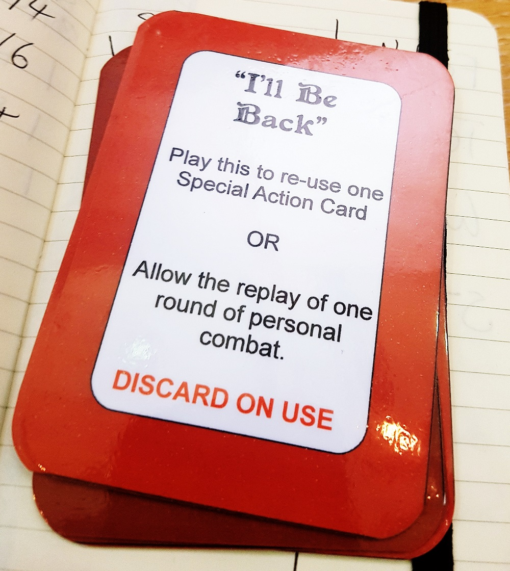 """""""I'll Be Back!"""" at the Dungeons of Yendor Megagame"""