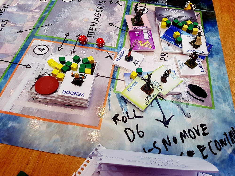 A Portal at the Dungeons of Yendor Megagame